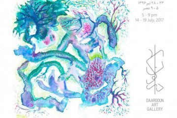 نقاشی های موژان آذر